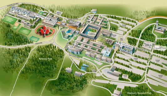 SFU Map